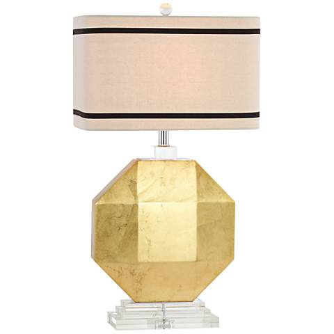 Cadence Gold Leaf Table Lamp