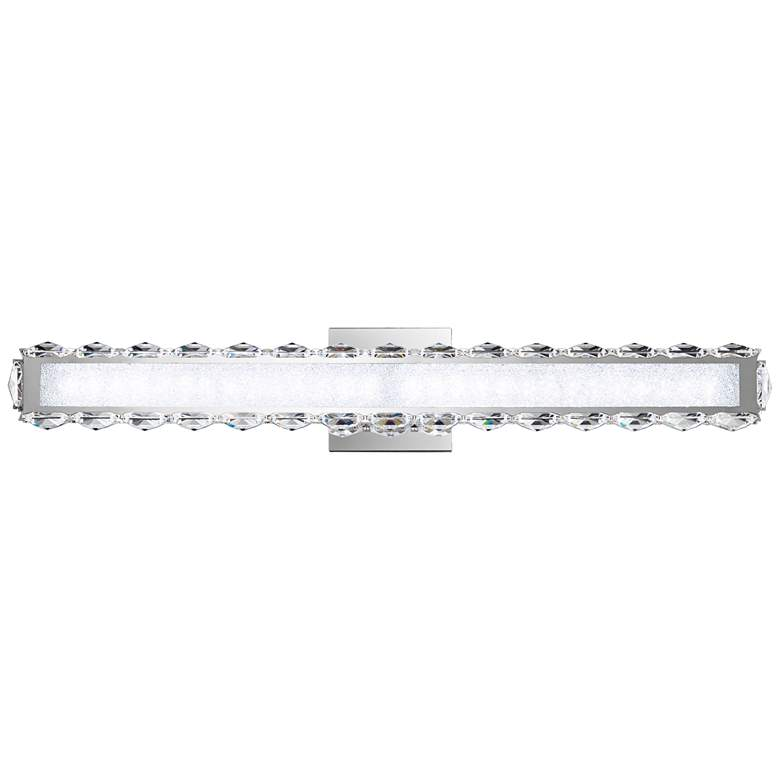 """Schonbek Dionia 26""""W Stainless Steel LED Bath Light"""