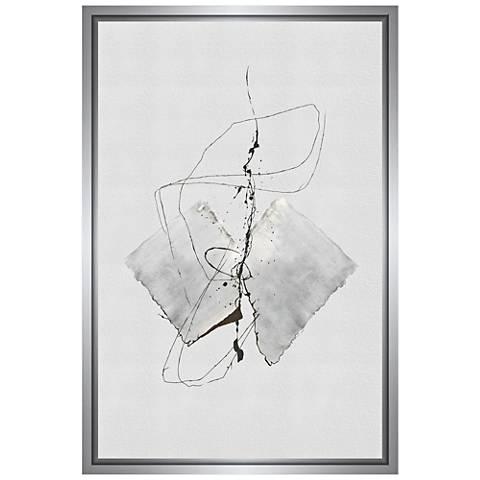 Sketch Framed Canvas Wall Art
