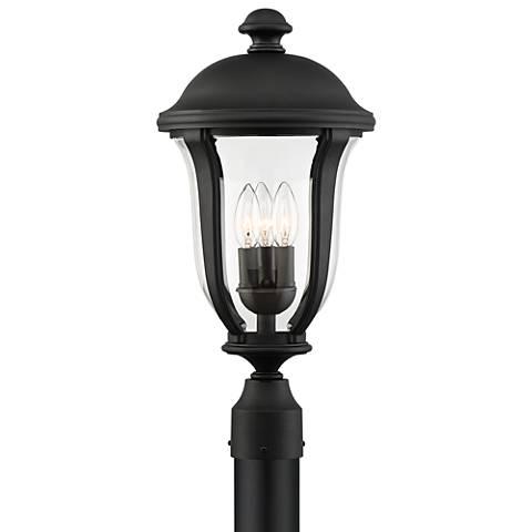 "Park Sienna 20"" High Black Outdoor Post Light"