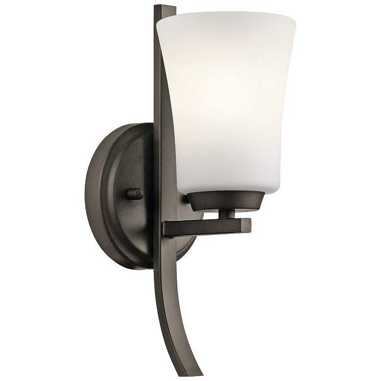 "Kichler Tao 12 1/2"" High Olde Bronze Wall Sconce"