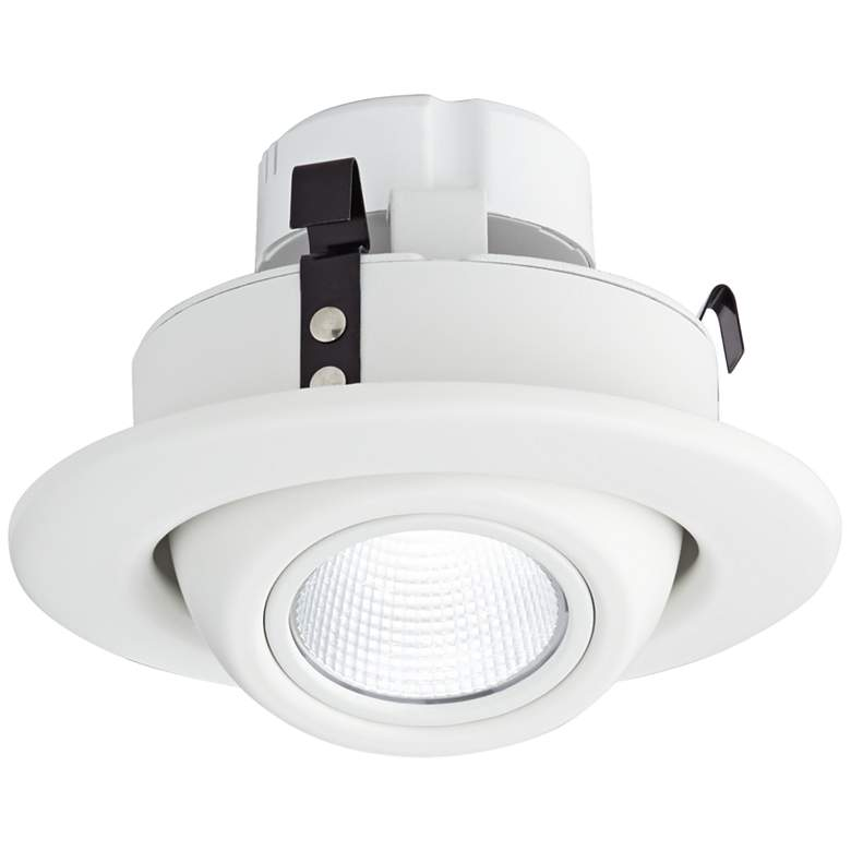 "4"" White Eyeball 10 Watt LED Retrofit Trim"