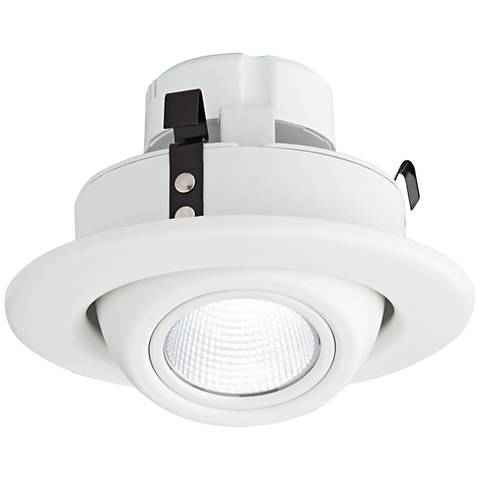 "4"" White Eyeball 10 Watt LED Retrofit Trim"
