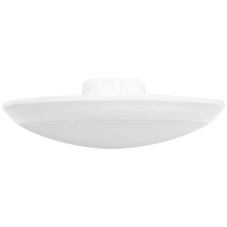 "5/6"" White 12 Watt LED Recessed Retrofit Trim"