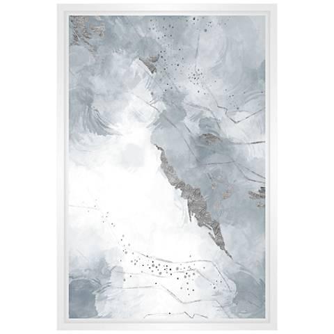 Through The Clouds Framed Canvas Wall Art