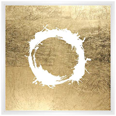 """The Ring 31 1/2"""" Square Framed Canvas Wall Art"""