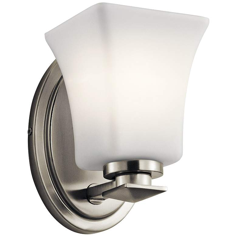 """Kichler Clare 7 1/4"""" High Brushed Nickel Wall Sconce"""