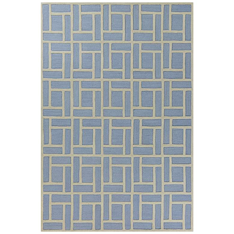 Libby Langdon Soho 5020 Blue Brick Area Rug