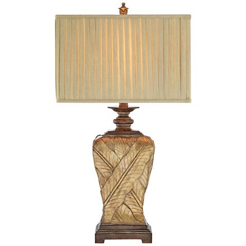 Paulina Soft Gold and Oil Rubbed Bronze LED Table Lamp