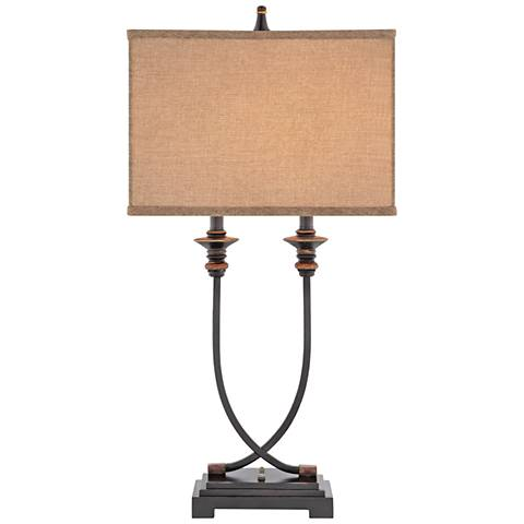 Aiden oil rubbed bronze table lamp 44e06 lamps plus aiden oil rubbed bronze table lamp aloadofball Choice Image