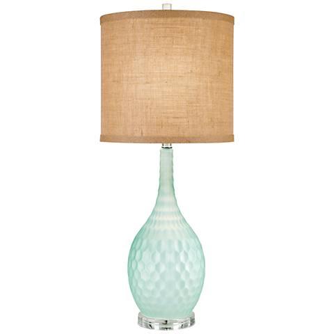 Sophia Seafoam Blue Table Lamp