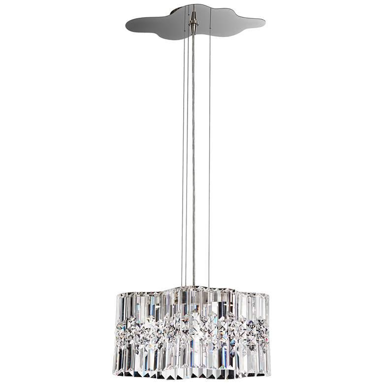 """Schonbek Selene 14 1/2""""W Stainless Steel LED Pendant Light"""
