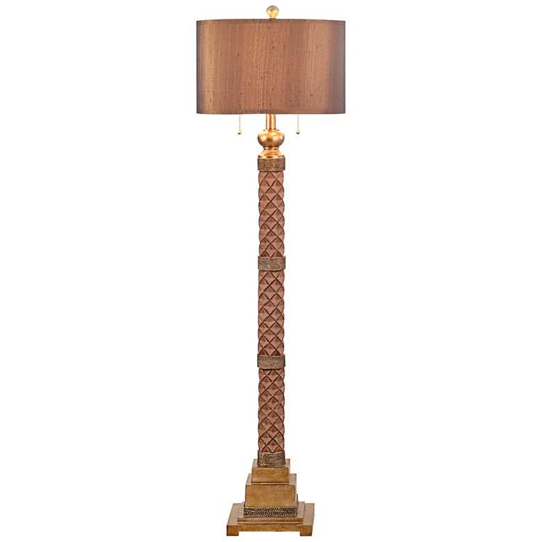 Marietta Burnished Bronze Floor Lamp