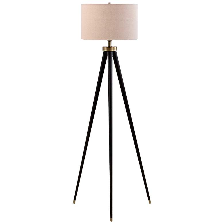 Hendrick Dark Bronze Tripod Floor Lamp