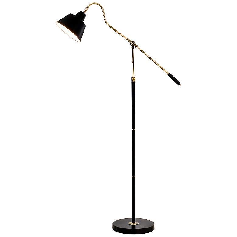 Stiffel Redondo Antique Brass Floor Lamp 1x452 Lamps Plus