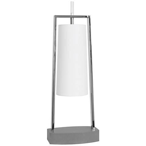 Van Teal Deluxe Silver Desk Lamp