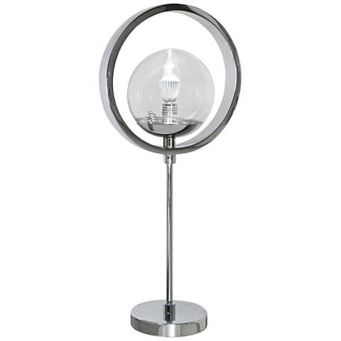 Van Teal High Society Chrome Table Lamp