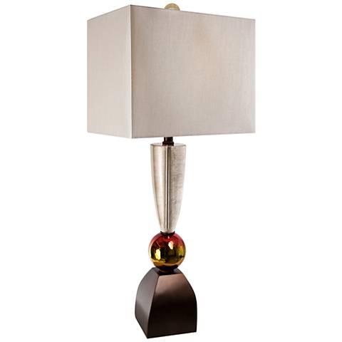 Van Teal Golden Sun Dark Copper Table Lamp