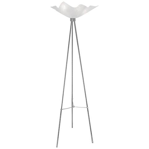 Van Teal Coolness Chrome Torchiere Floor Lamp