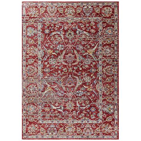 Ashton 7700 Red Elegance Area Rug