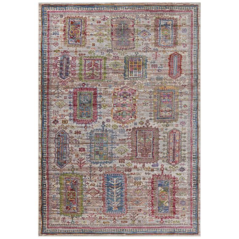 "Ashton 7705 5'3""x7'7"" Gray Verona Area Rug"