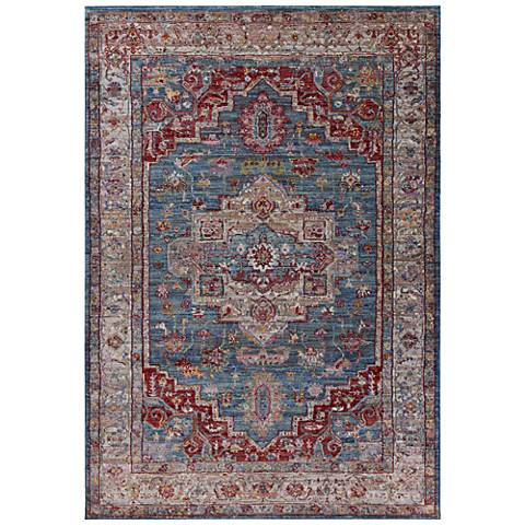 Ashton 7709 Blue and Gray Taylor Area Rug