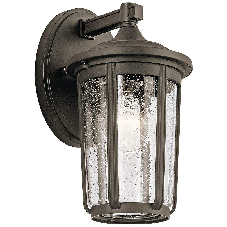 "Kichler Fairfield 11"" High Olde Bronze Outdoor Wall Light"