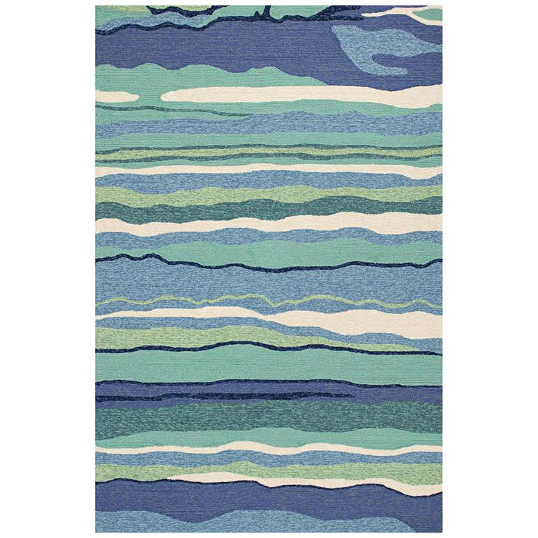 Harbor 4216 Ocean Lagoon Indoor-Outdoor Area Rug