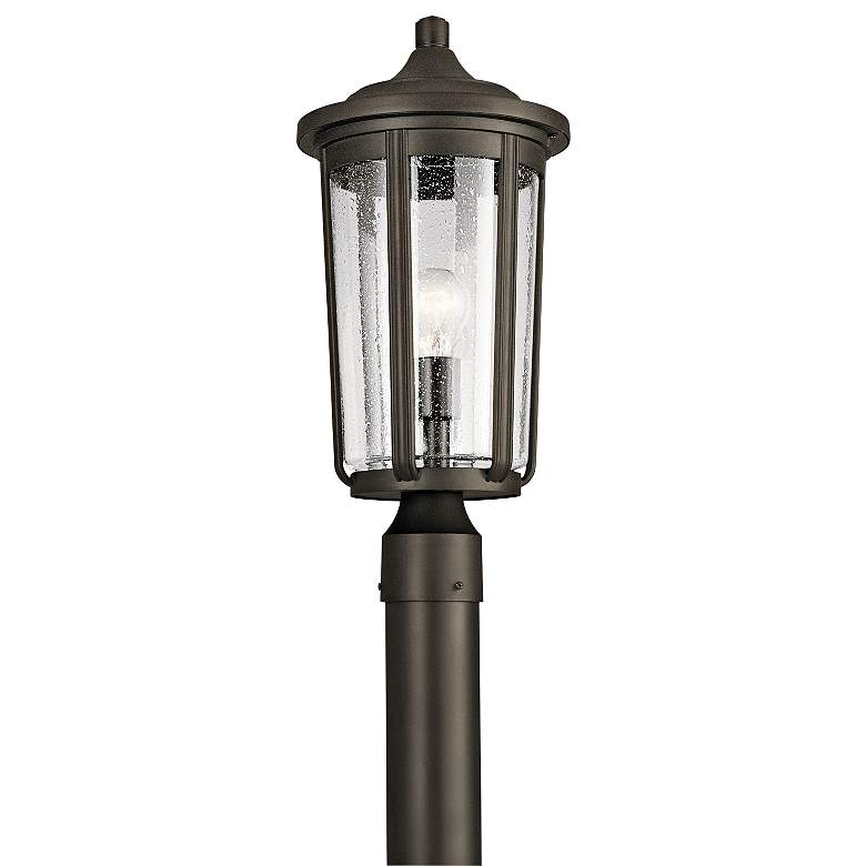 "Kichler Fairfield 19 1/4""H Olde Bronze Outdoor Post"
