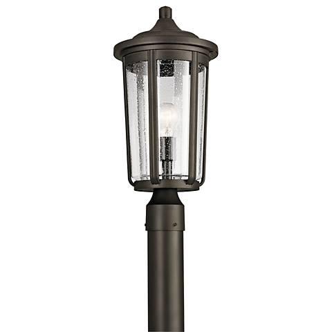 "Kichler Fairfield 19 1/4""H Olde Bronze Outdoor Post Light"
