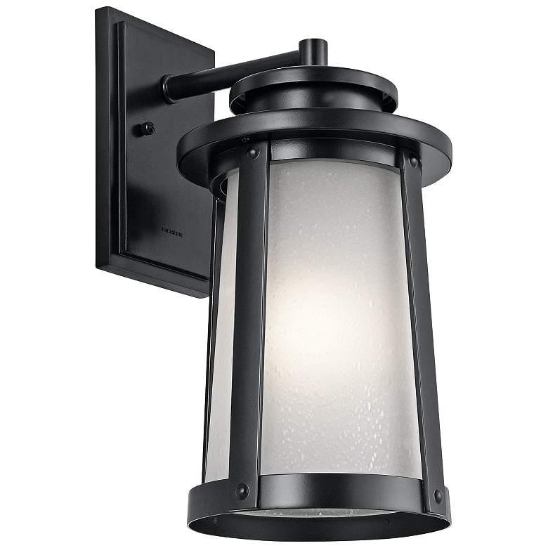 "Kichler Harbor Bay 15 3/4"" High Black Outdoor Wall Light"