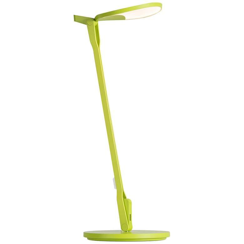 Koncept Splitty Leaf Green LED Desk Lamp with USB Port