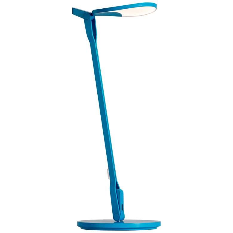 Koncept Splitty Matte Pacific Blue LED Desk Lamp