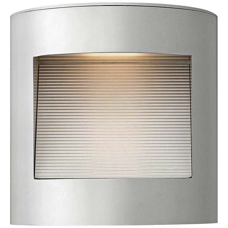 "Hinkley Luna 9"" High Titanium LED Outdoor Wall Light"