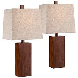 Wood Table Lamps Plus