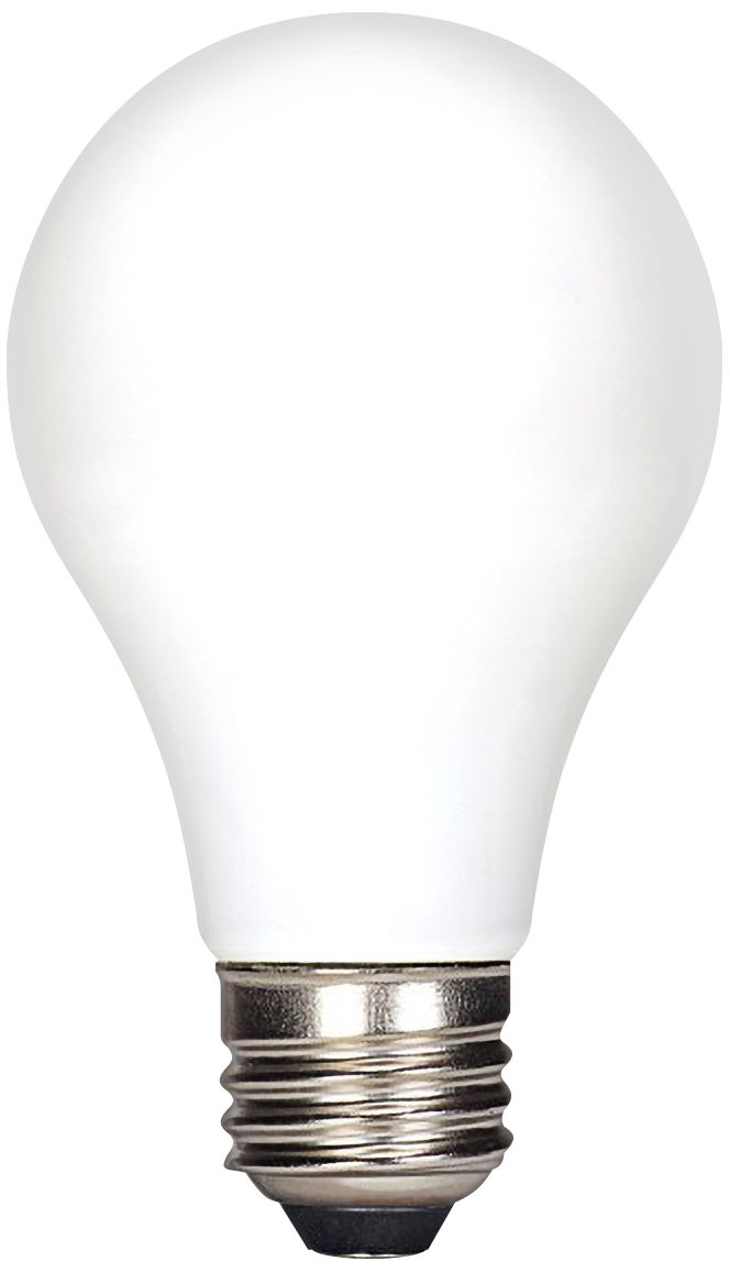 60W Equivalent Satco Frosted 6 1/2 Watt LED Dimmable Bulb