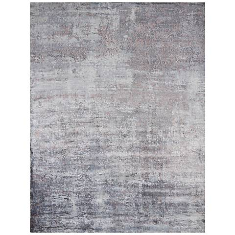 Indulge 0801 Slate Pulse Area Rug