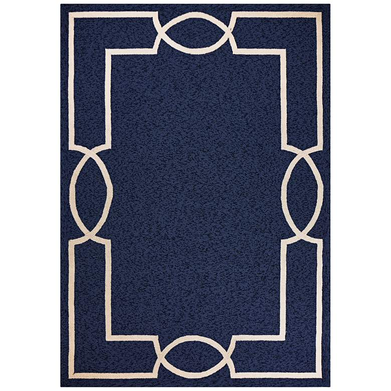 Libby Langdon Hamptons 5224 5'x7' Ocean Madison Area Rug