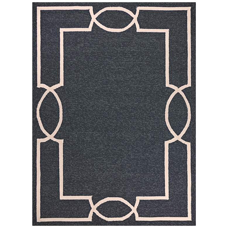 Libby Langdon Hamptons 5226 5'x7' Onyx Madison Area Rug