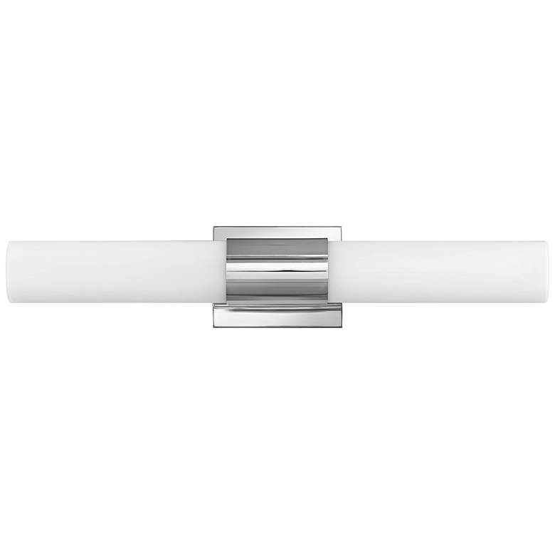 "Hinkley Portia 24 1/2"" Wide Polished Nickel LED Bath Light"