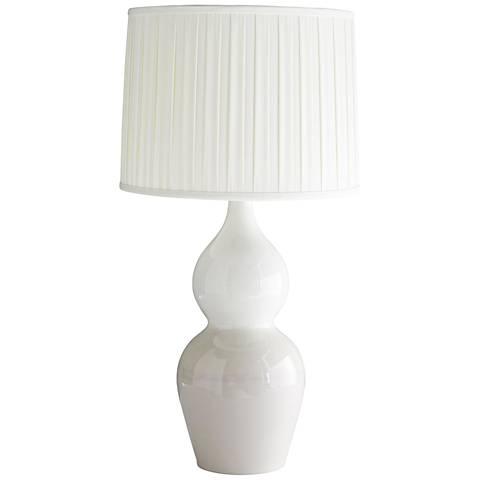Arteriors Home Linda Whisper Pink Reactive Glaze Table Lamp