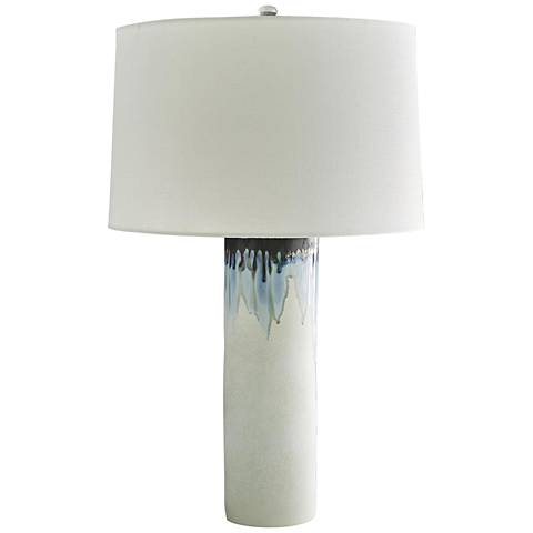 Arteriors Home Laurel Oceanside Reactive Glaze Table Lamp