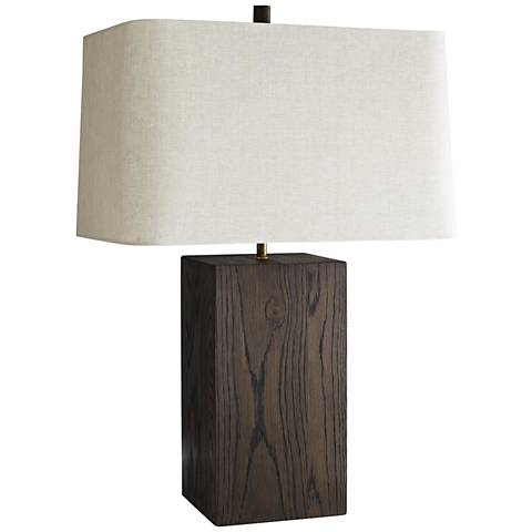 Arteriors Home Lloyd Umber Wood Table Lamp
