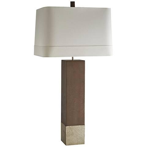 Arteriors Home Lucas Sahara Wood Table Lamp