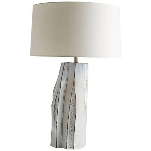 Lorna Glacial Reactive Glaze Ceramic Table Lamp