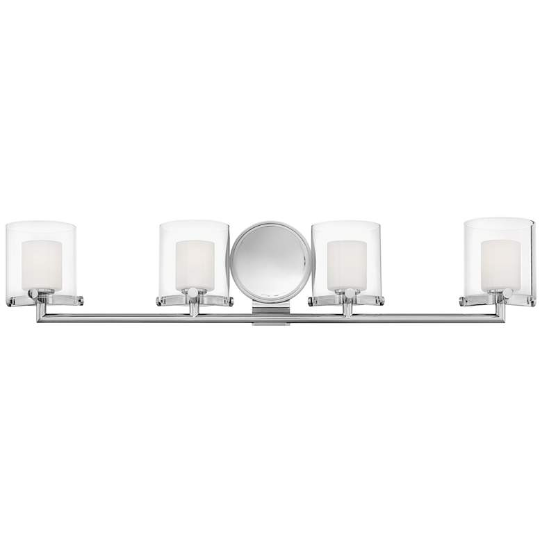 "Hinkley Rixon 33 3/4"" Wide Chrome 4-Light Bath Light"