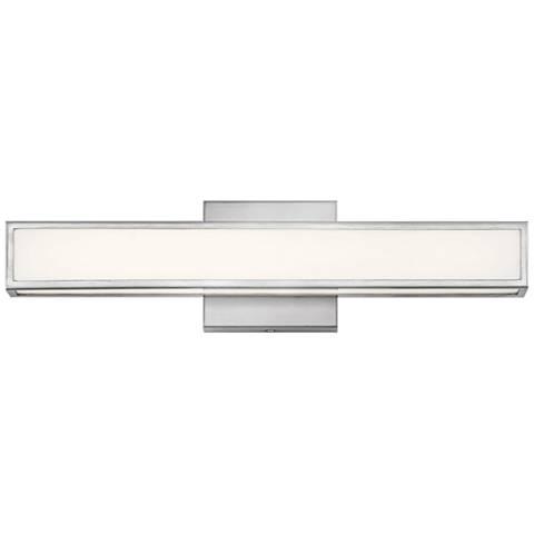 """Hinkley Alto 18"""" Wide Brushed Nickel LED Bath Light"""