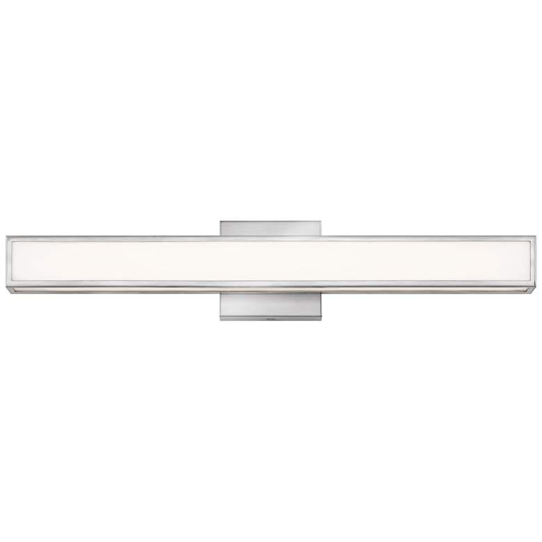 """Hinkley Alto 24"""" Wide Brushed Nickel LED Bath Light"""
