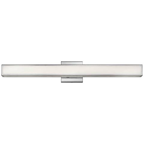 "Hinkley Alto 30"" Wide Chrome LED Bath Light"