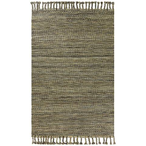Libby Langdon Homespun 5565 Slate Mission Area Rug